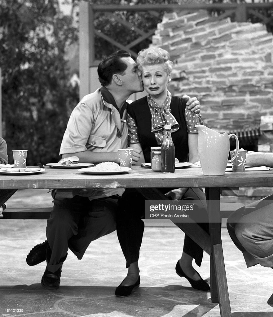 Desi Arnaz As Ricky Ricardo And Lucille Ball Lucy In The I Love