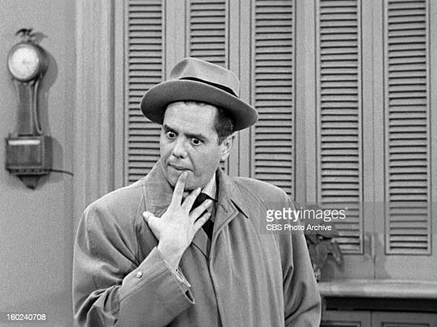 Desi Arnaz as Ricky Ricardo in the I LOVE LUCY episode Lucy Becomes a Sculptress Season 2 episode 15 Original air date January 12 1953 Image is a...