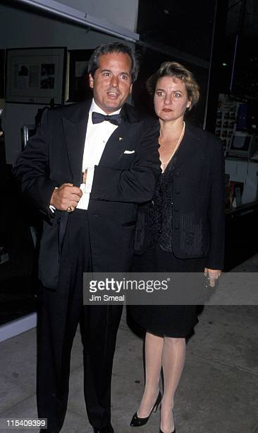 Desi Arnaz Jr and Amy Arnaz during Opening Night Party for Guys Dolls at Club Tatou in Hollywood California United States