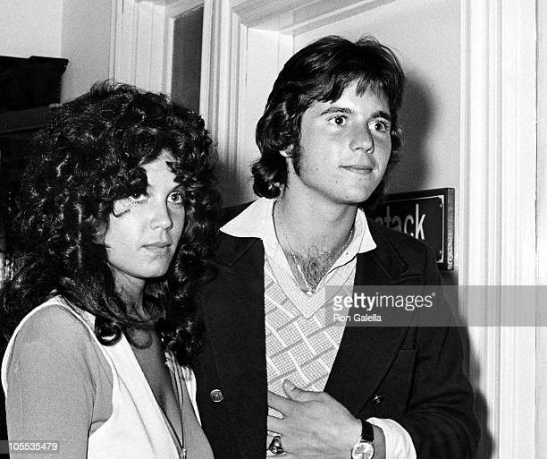 Desi Arnaz Jr and Girlfriend during Bridal Shower Luncheon for Lucie Arnaz at South Beverly Restaurant in Beverly Hills California United States