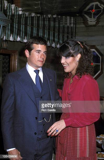 Desi Arnaz Jr and Lucie Arnaz during Easter Seal Tealethon March 19 1978 at El Privado Club in Beverly Hills California United States