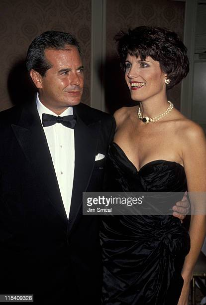 Desi Arnaz Jr and Lucie Arnaz during Television Academy Hall of Fame Awards at Beverly Wilshire Hotel in Beverly Hills California United States
