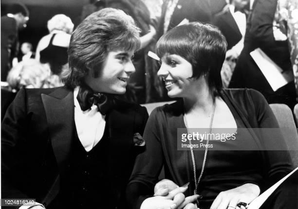 Desi Arnez Jr and Liza Minelli circa 1972 in in New York City