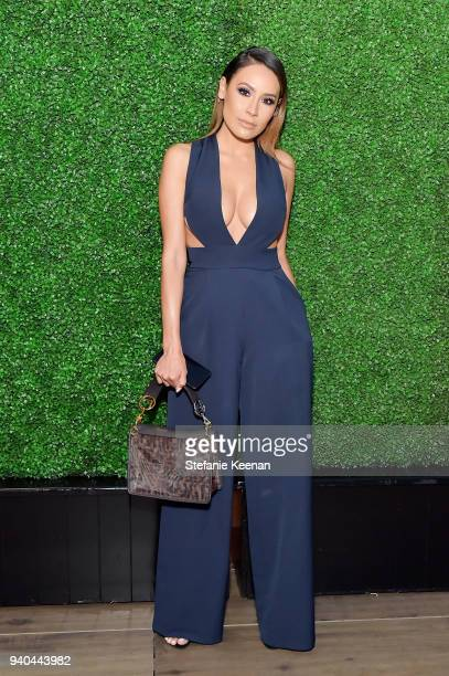 Desi Perkins attends KKWxMario Dinner at JeanGeorges Beverly Hills on March 31 2018 in Beverly Hills California
