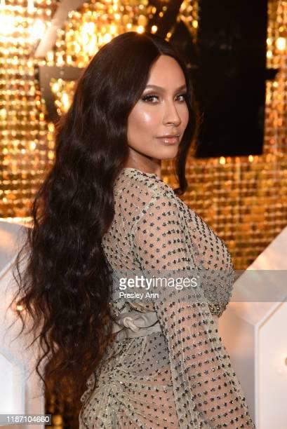 Desi Perkins attends Patrick Starrr birthday party on November 11 2019 in Los Angeles California