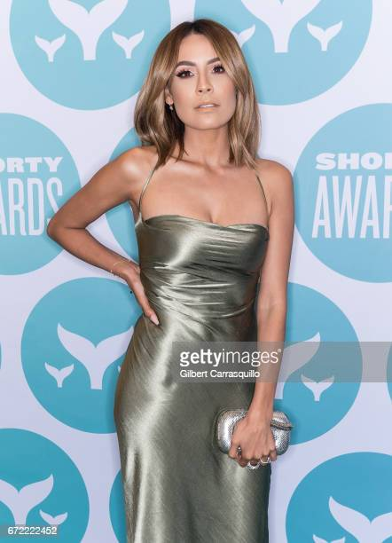 Desi Perkins attends the 9th Annual Shorty Awards at PlayStation Theater on April 23 2017 in New York City