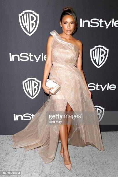 Desi Perkins attends the InStyle And Warner Bros Golden Globes After Party 2019 at The Beverly Hilton Hotel on January 6 2019 in Beverly Hills...