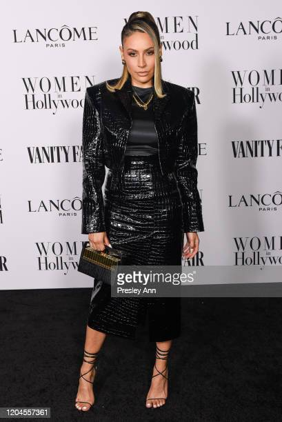 Desi Perkins attends the Vanity Fair and Lancôme Women in Hollywood celebration at Soho House on February 06 2020 in West Hollywood California