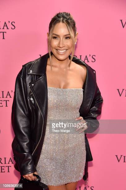 Desi Perkins attends the Victoria's Secret Fashion Show at Pier 94 on November 8 2018 in New York City