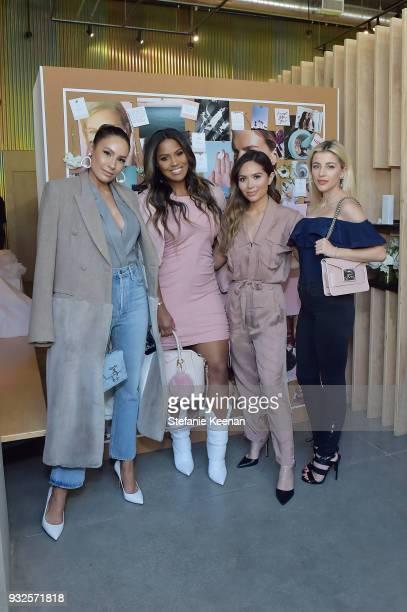 Desi Perkins Shayla Mitchell Marianna Hewitt and Evelyna Cartasilver attend Summer Fridays Skincare Launch With Marianna Hewitt Lauren Gores Ireland...
