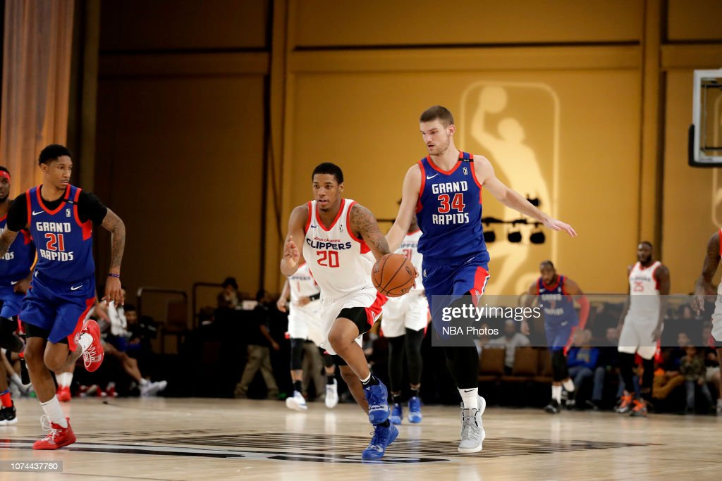 8b09325acc85 2018 MGM Resorts NBA G League Winter Showcase Day 1  Agua Caliente Clippers  v Grand