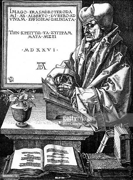 Desiderius Erasmus Dutch author scholar and humanist Erasmus was probably the greatest scholar of the northern Renaissance A believer in the...