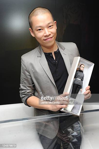 Desiger Jason Wu attends the Bergdorf Goodman celebration during Fashion's Night Out at Bergdorf Goodman on September 8, 2011 in New York City.