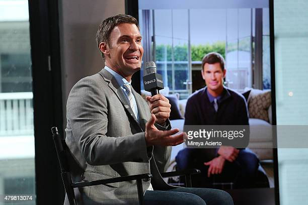Design and reality star Jeff Lewis attends AOL Build Presents Flipping Out at AOL Studios In New York on July 7 2015 in New York City