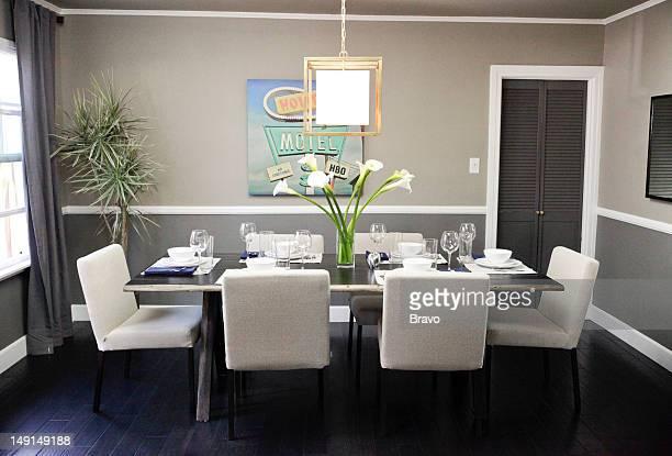 LEWIS 'Design Bully' Episode 109 Pictured Dining room after renovation