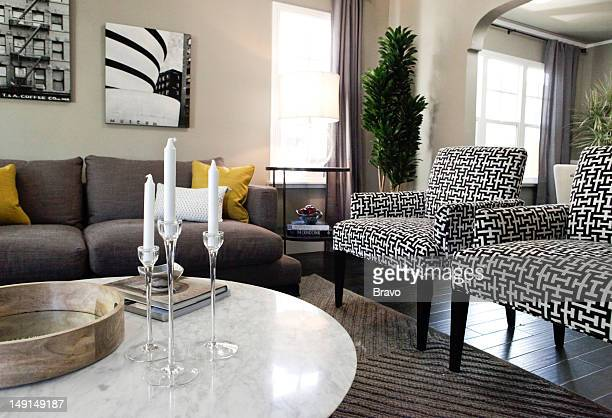 LEWIS 'Design Bully' Episode 109 Pictured Living room after renovation