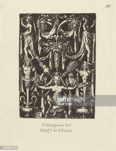 Design by Aldengraver, Edouard Baldus , Paris, France Heliogravure, 6.5 x 4.8 cm .