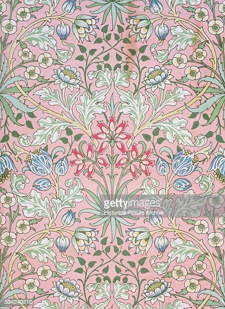 A design by John Henry Dearle produced for Morris and Company the decorative art company of William Morris