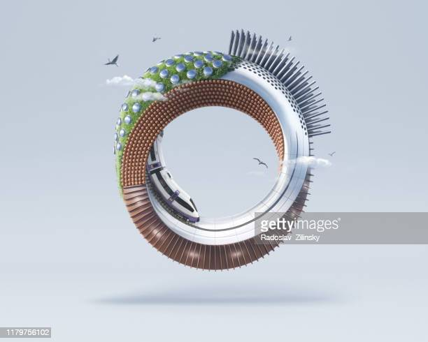 design circle infinite art object - image stock pictures, royalty-free photos & images