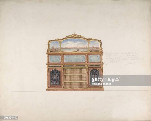 Design for a Cabinet 183090 Artist Anon