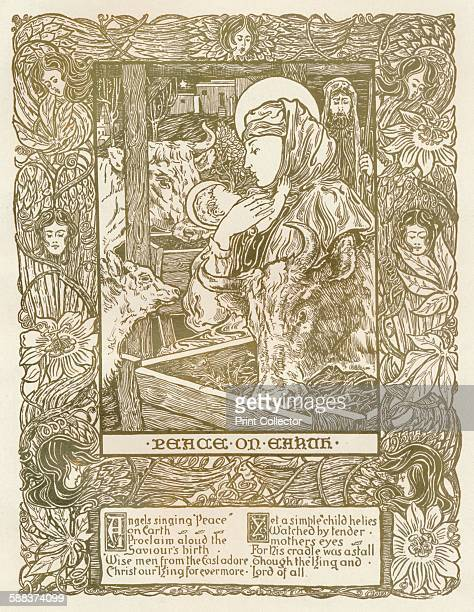Design for A Christmas Carol', c1898. From The Studio Volume 15. .