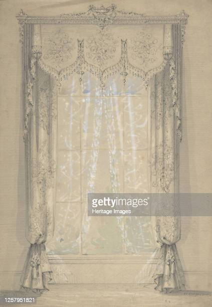 Design for Curtains 18411917 Artist Charles Hindley Sons