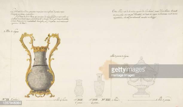 Design for Four Vases circa 177085 Artist Anon