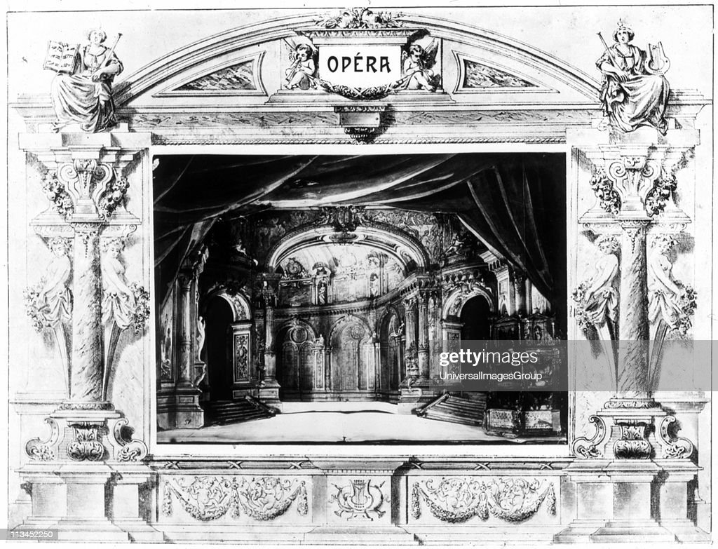 Design for Mozart's 'Don Giovanni', 1875  Opera by Wolfgang Amadeus