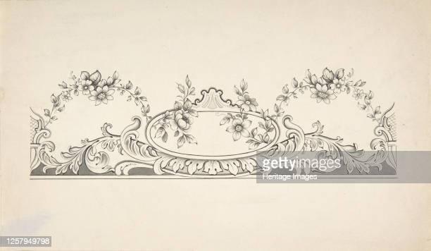 Design for Panel Decoration, 1828-40. Artist J Hulme.