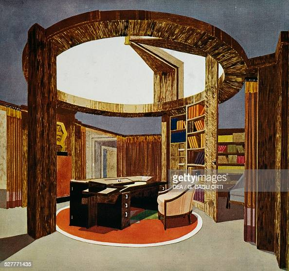 by pierre chareau 1883 1950 pictures getty images. Black Bedroom Furniture Sets. Home Design Ideas