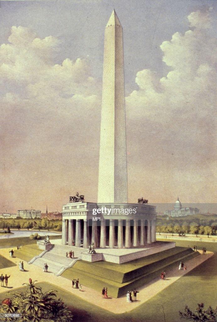 Washington Monument : News Photo