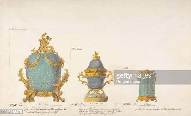 Design for Three Vases circa 177085 Artist Anon