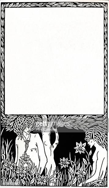 Design for TitlePage of Pagan Papers Illustration from Kenneth Grahame's collection of stories 'Pagan Papers' From The Art of the Book edited by...
