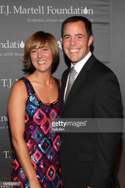 Design guru Homegirl Gina Bishop and guest attend the 37th Anniversary TJ Martell Foundation Awards Gala at Cipriani 42nd Street on October 23 2012...