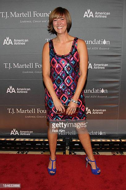 Design guru Homegirl Gina Bishop attends the 37th Anniversary TJ Martell Foundation Awards Gala at Cipriani 42nd Street on October 23 2012 in New...