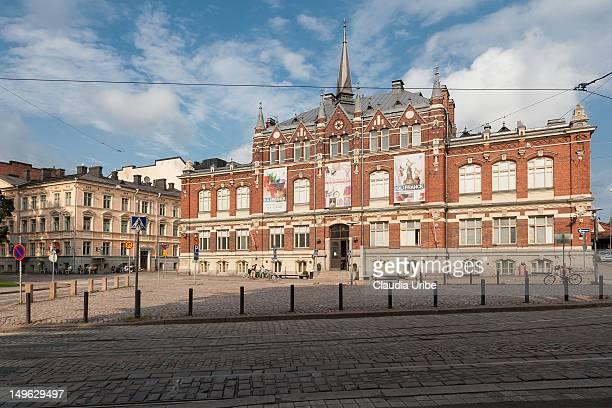 design museum, helsinki, finland - デザイン博物館 ストックフォトと画像