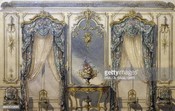 Design of rococo style decor for a living room pictures for The living room channel 10 tonight