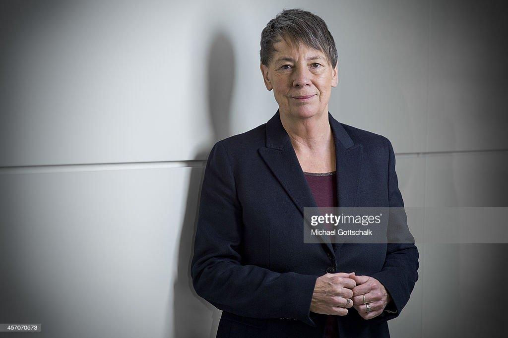 Designated German Environment Minister Barbara Hendricks, SPD, poses during a portrait session on December 16, 2013 in Berlin, Germany.
