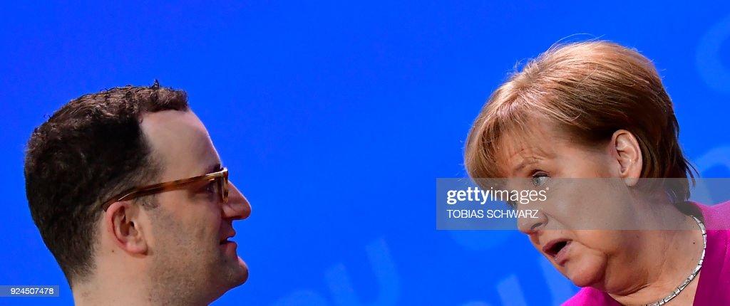 GERMANY-POLITICS-CDU : Nachrichtenfoto