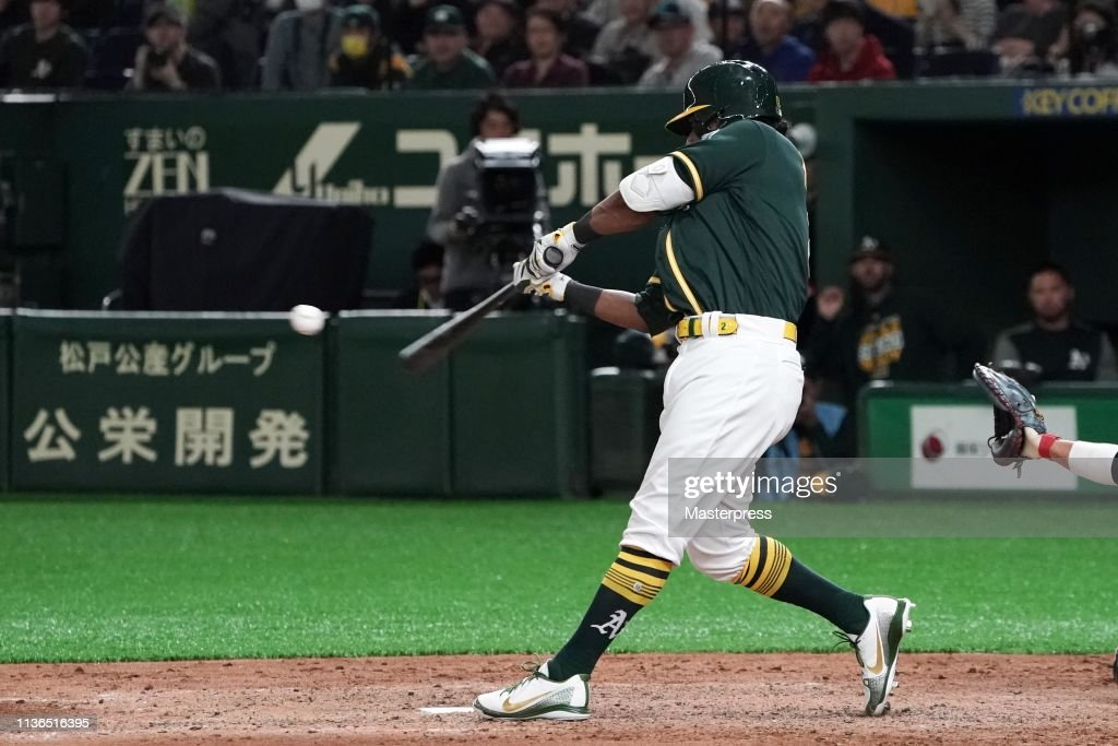 Hokkaido Nippon-Ham Fighters v Oakland Athletics - Preseason Game : News Photo