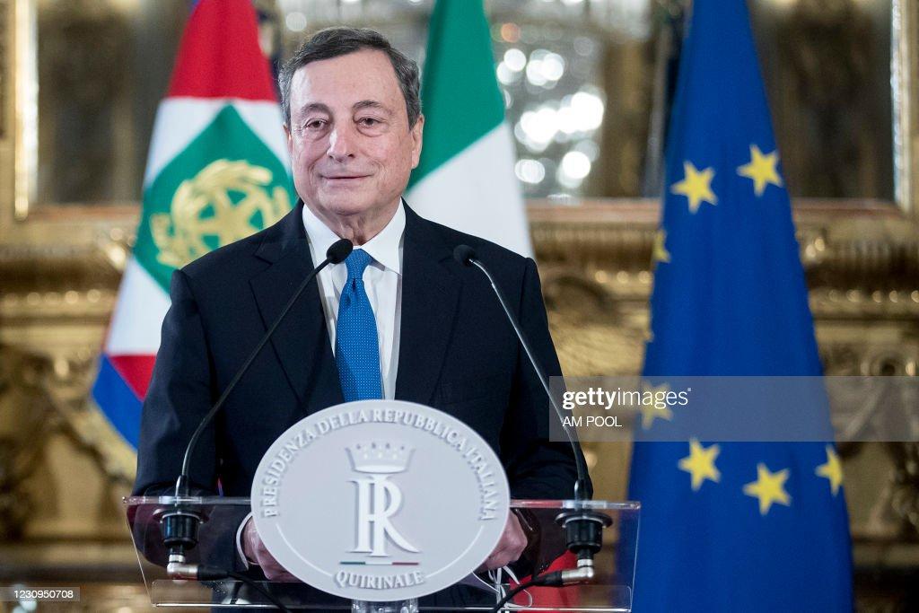 Italian Government Consultations Ahead Of A New Appointment As Prime Minister : Foto di attualità