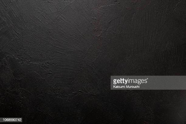 designed black wall texture background - image photos et images de collection