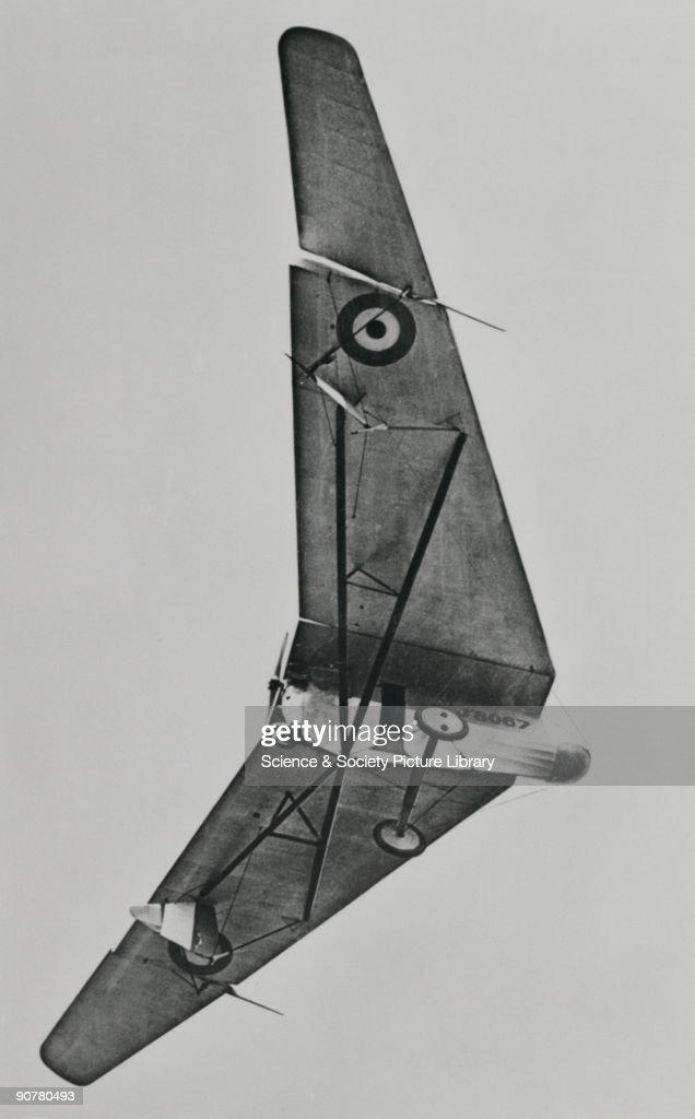 Hill Pterodactyl tailless aeroplane, 1925. : News Photo