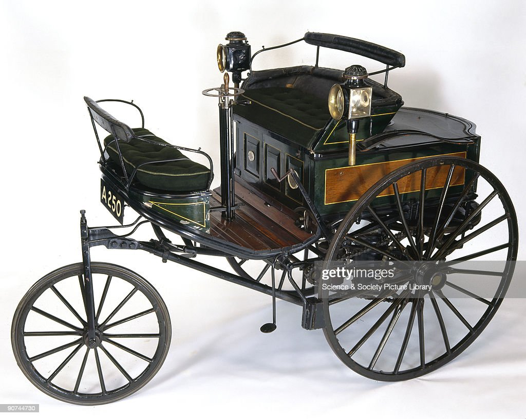 Benz 1.5 hp motor car, 1888. Pictures | Getty Images