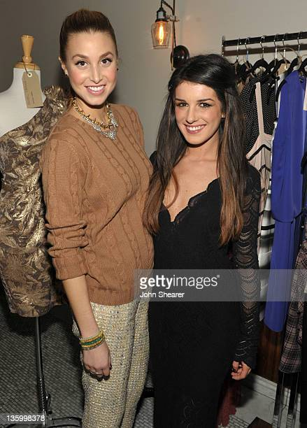 Designer/ Actress Whitney Port and Actress Shenae Grimes attend The RealReal / Chrysalis Charity Benefit Curated By Shenae Grimes at Pici Enoteca on...