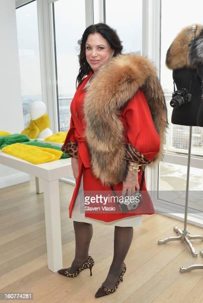 Designer Adrienne Landau attends Bryan Boy For Adrienne Landau Presentation Fall 2013 MercedesBenz Fashion Week at Mondrian SoHo on February 5 2013...