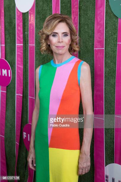 Designer Agatha Ruiz de la Prada attends the FIMI Kids Fashion Show on June 22 2018 in Madrid Spain