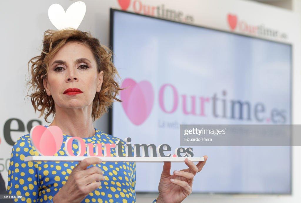 Agatha Ruiz de La Prada Presents 'Ourtime.es' in Madrid