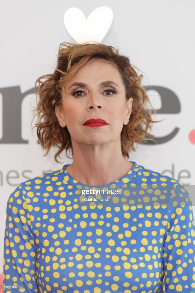 Agatha Ruiz de La Prada Presents 'Ourtime.es' in Madrid
