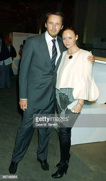 Designer Alasdhair Willis and wife fashion designer Stella McCartney attend the party for Alasdhair Willis's Established Sons design company at...